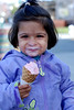 2008 March - Juhi Eating Ice Cream :